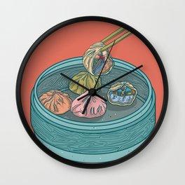 Dim Sum Dive Bar Wall Clock