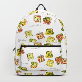 go vegan! Backpack