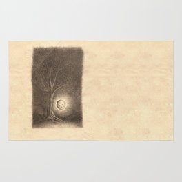 Baby Forest Spirit Drawing Rug
