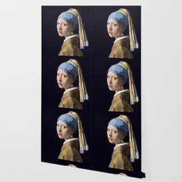 GIRL WITH A PEARL EARRING - JOHANNES VERMEER Wallpaper