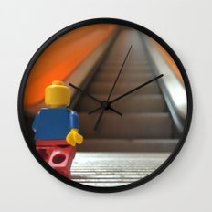 Going Up! Wall Clock