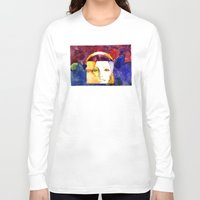madonna Long Sleeve T-shirts featuring Lady Madonna by Ecsentrik