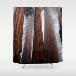 Woodley Forest Shower Curtain