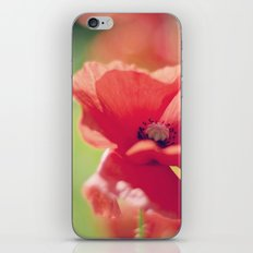 Poppy breeze iPhone & iPod Skin