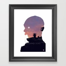 The Walking Dead - Season 3 Framed Art Print