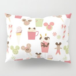 Christmas Magic Food Pillow Sham