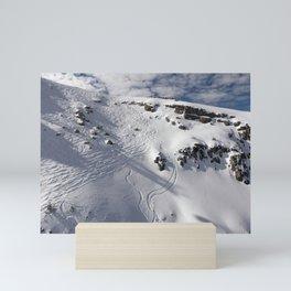 Ski Slopes Mini Art Print