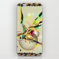 parrot iPhone & iPod Skins featuring PARROT by Mathis Rekowski