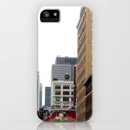 On the streets in NYC iPhone Case
