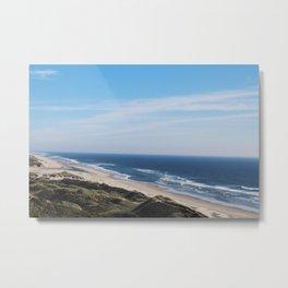 the coast Metal Print