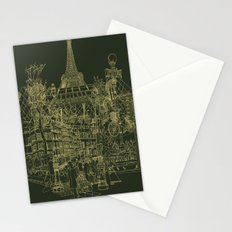 Paris! Olive Stationery Cards