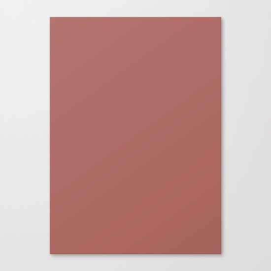 Marsala Color Matte 2015 Canvas Print