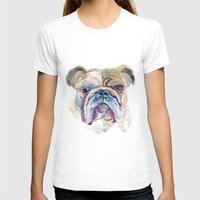 bulldog T-shirts featuring Bulldog by coconuttowers