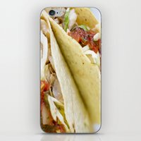 taco iPhone & iPod Skins featuring Taco  by Spotted Heart