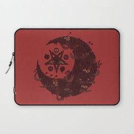 The Dark Moon Compels You to Fuck Shit Up Laptop Sleeve