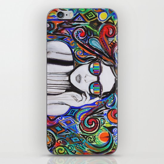 Think in Technicolor iPhone & iPod Skin