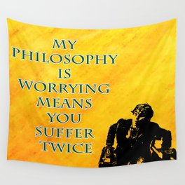 Newt Scamander Quote Wall Tapestry