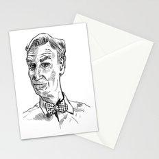 Bill Nye Portrait Stationery Cards