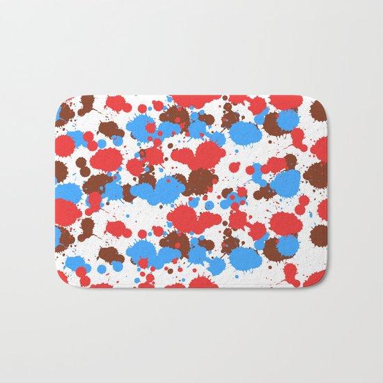 Splash Pop Art Spots Bath Mat