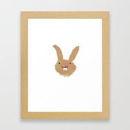 Rabbit 2 Framed Art Print