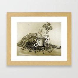 CoffeeCoffee Framed Art Print
