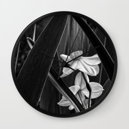 Narcissus Under the Arch Wall Clock