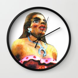 Dancer Female Albuquerque 2002 ART Wall Clock