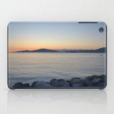 on a western shore iPad Case