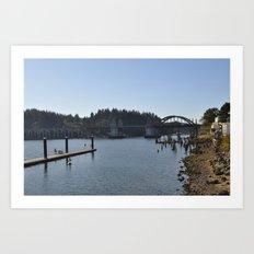 Florence Bridge Art Print