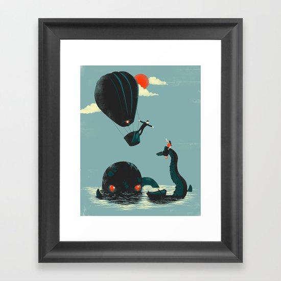 Reach for Me Framed Art Print