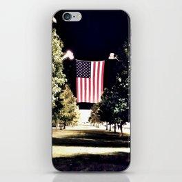 patriotism at the theater iPhone Skin