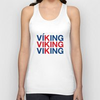 viking Tank Tops featuring VIKING by eyesblau