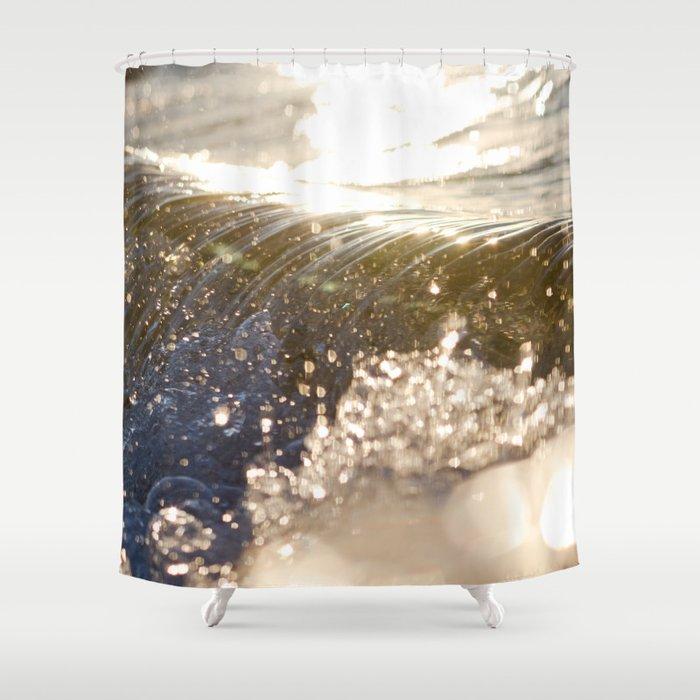 Ribs Shower Curtain