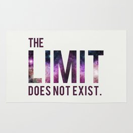 The Limit Does Not Exist - Mean Girls quote from Cady Heron Rug