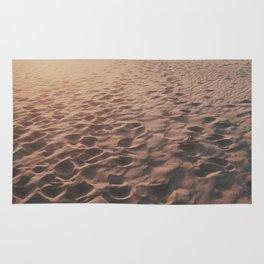 Footprints In The Desert Rug