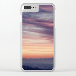 The Valley, 2012  Clear iPhone Case