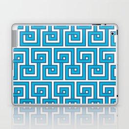 Greek Key - Turquoise Laptop & iPad Skin