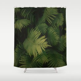 Nature Leaves Shower Curtain