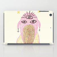 third eye iPad Cases featuring Third Eye by Nü Köza