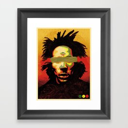 EMANCIPATE YOURSELF Framed Art Print