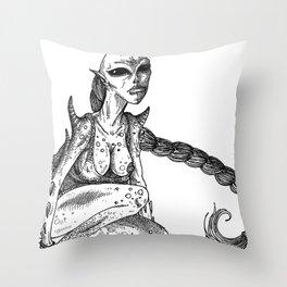 HELL'S ZODIAC - VIRGO Throw Pillow