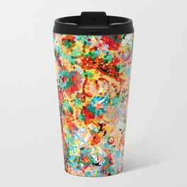 Flower Fight Travel Mug