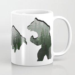 Bear vs Bull v8 Coffee Mug