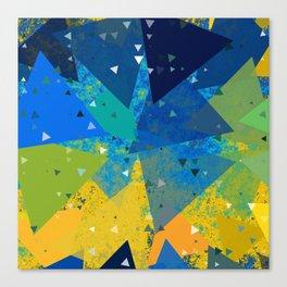 Spring Confetti Canvas Print