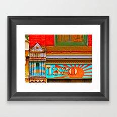 1320 Framed Art Print