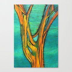 A Tree I drew Canvas Print