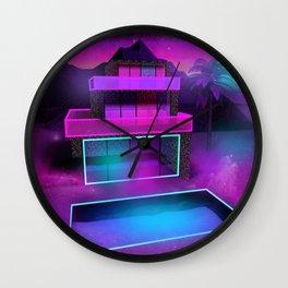 Glass Home Wall Clock