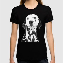 Black and White Dalmatian T-shirt