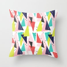 Paper Play Throw Pillow