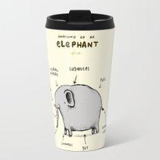 Anatomy of an Elephant Travel Mug
